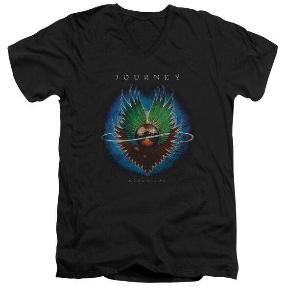 Journey Evolution Short Sleeve Adult V Neck T-Shirt