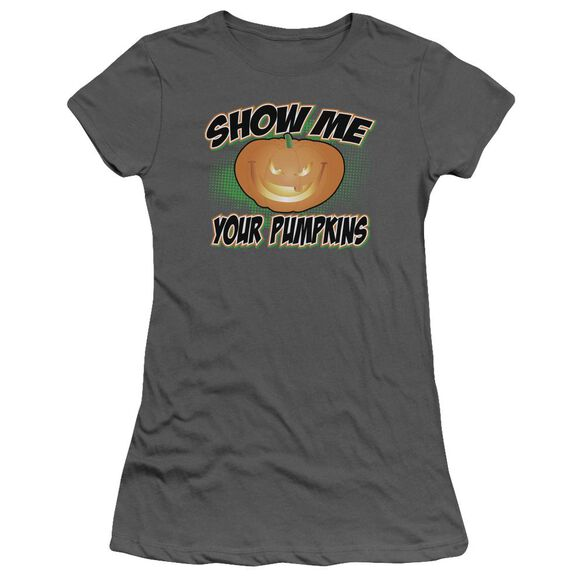 Show Me Short Sleeve Junior Sheer T-Shirt