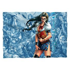 Zenescope Grimmoire (Front Back Print) Pillow Case White