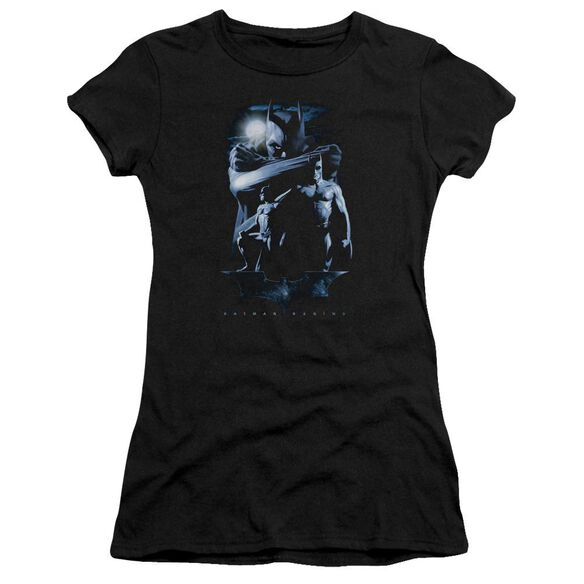 Batman Begins Forlorn Future Short Sleeve Junior Sheer T-Shirt