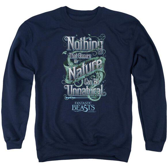 Fantastic Beasts Unnatural Adult Crewneck Sweatshirt