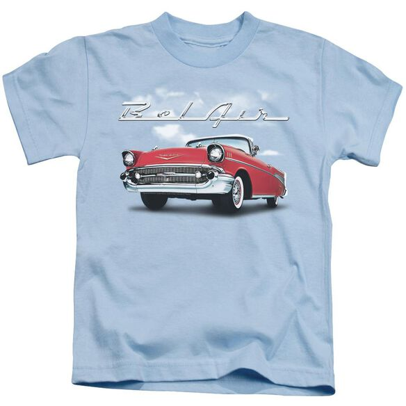 Chevrolet Bel Air Clouds Short Sleeve Juvenile Light T-Shirt