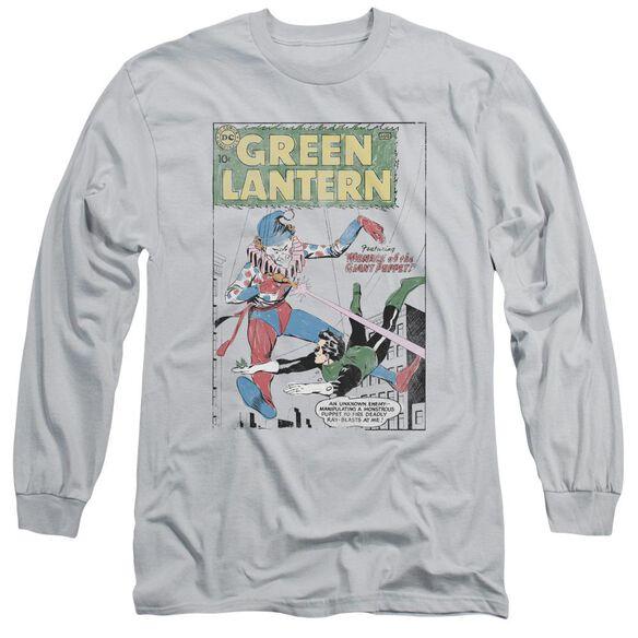 Green Lantern Puppet Menace Long Sleeve Adult T-Shirt