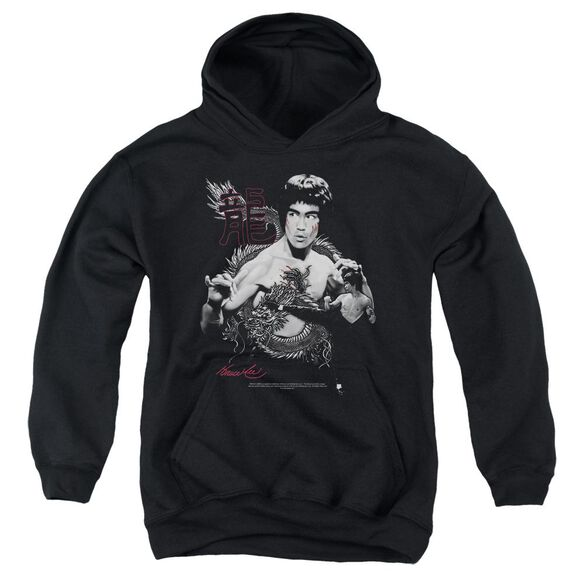 Bruce Lee The Dragon Youth Pull Over Hoodie