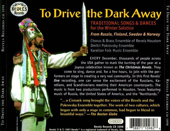 To Drive The Dark Aw