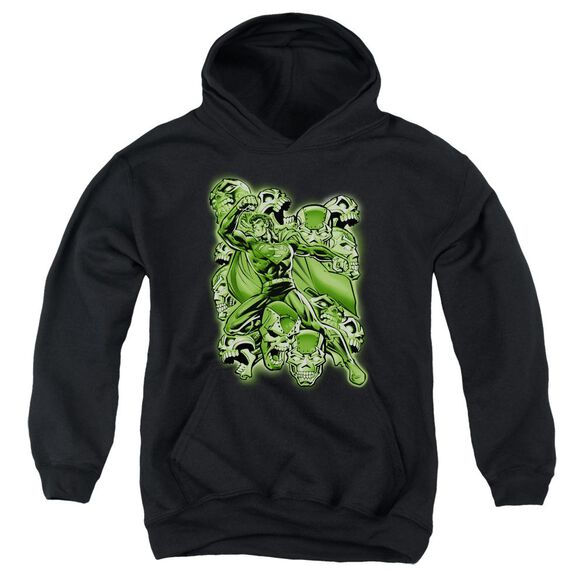 Superman Metallo Mayhem Youth Pull Over Hoodie