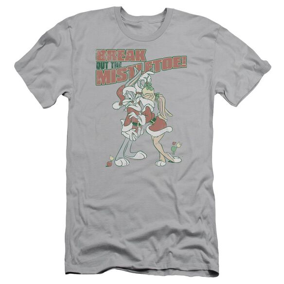 Looney Tunes Mistletoe Short Sleeve Adult T-Shirt