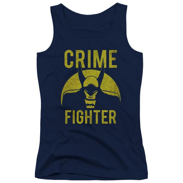 Dc Fight Crime Juniors Tank Top