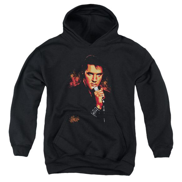 Elvis Trouble Youth Pull Over Hoodie