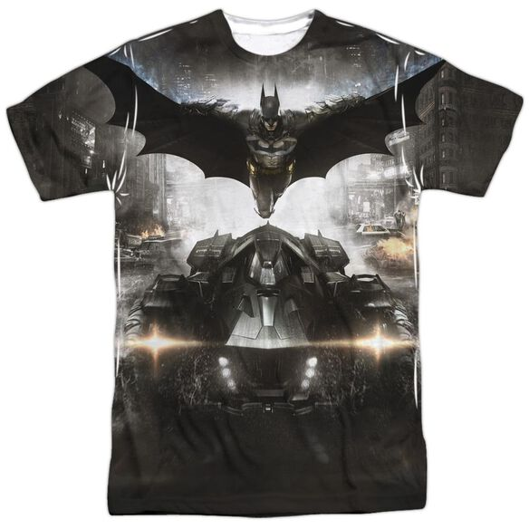 Batman Arkham Knight Poster Short Sleeve Adult Poly Crew T-Shirt