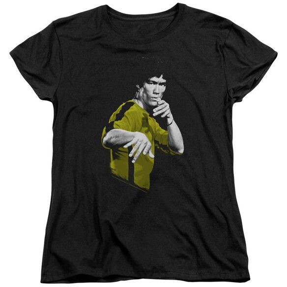 Bruce Lee Suit Of Death Short Sleeve Womens Tee T-Shirt