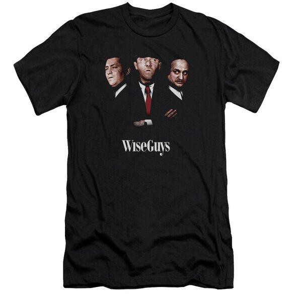 Three Stooges Wiseguys Premuim Canvas Adult Slim Fit