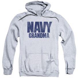 Navy Grandma Adult Pull Over Hoodie Athletic