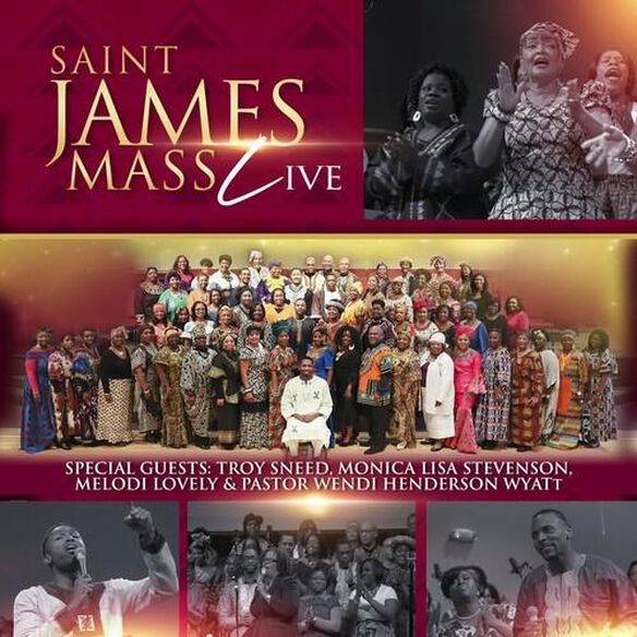 Saint James Mass - Saint James Mass (live)