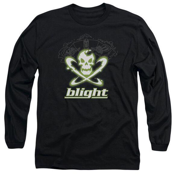 Batman Beyond Blight Long Sleeve Adult T-Shirt