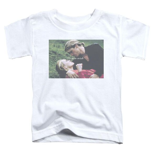 Princess Bride As You Wish Short Sleeve Toddler Tee White T-Shirt