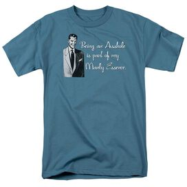 MANLY ESSENCE - ADULT 18/1 - SLATE T-Shirt