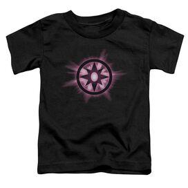 Green Lantern Sapphire Glow Short Sleeve Toddler Tee Black Lg T-Shirt