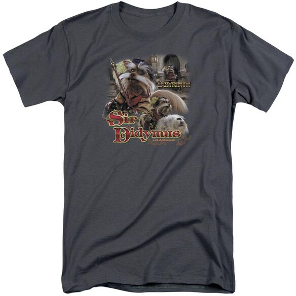 Labyrinth Sir Didymus Short Sleeve Adult Tall T-Shirt