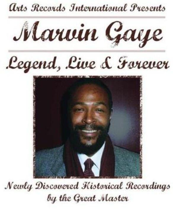 Marvin Gaye - Legend Live & Forever