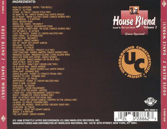 House Blend Vol 2 1196