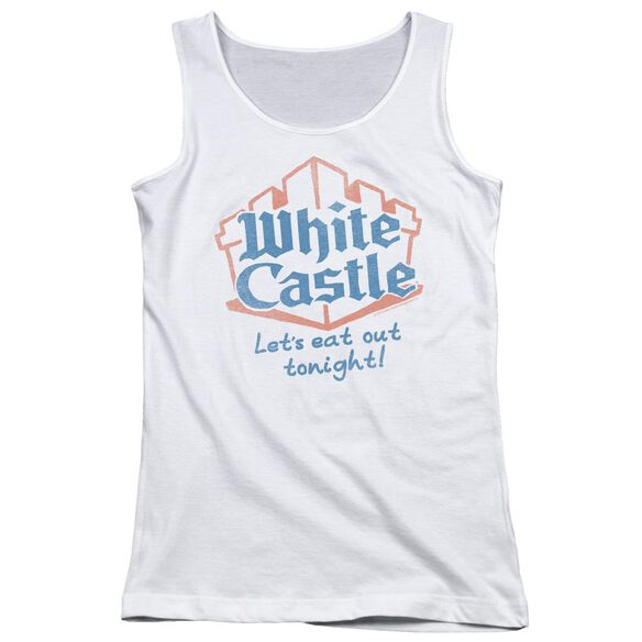 Castle Lets Eat Juniors Tank Top