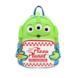 Loungefly Toy Story Alien Pizza Planet Mini Backpack