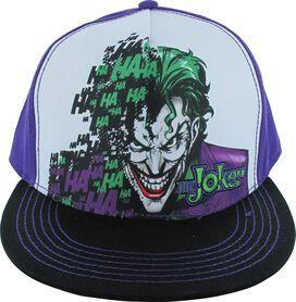 Joker Laugh Bang Snapback Hat