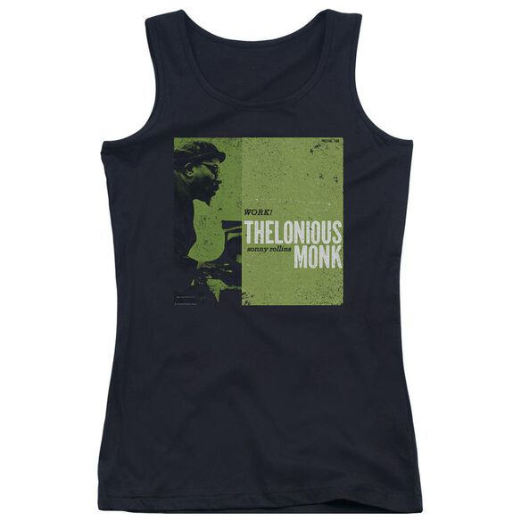 Thelonious Monk Work Juniors Tank Top
