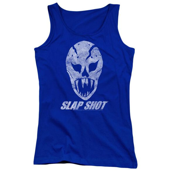 Slap Shot The Mask Juniors Tank Top Royal