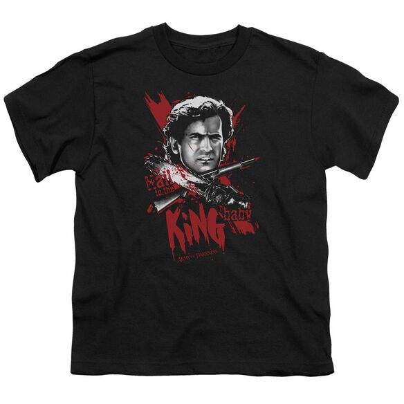 Army Of Darkness Hail To The King Short Sleeve Youth T-Shirt