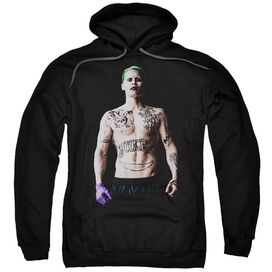 Suicide Squad Joker Stance Adult Pull Over Hoodie