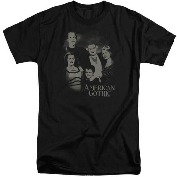 The Munsters American Gothic Short Sleeve Adult Tall T-Shirt