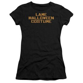 LAME HALLOWEEN COSTUME - JUNIOR SHEER - BLACK T-Shirt
