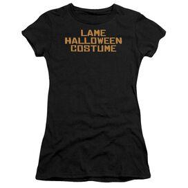 Lame Halloween Costume Short Sleeve Junior Sheer T-Shirt