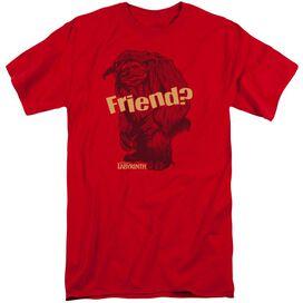 Labyrinth Ludo Friend Short Sleeve Adult Tall T-Shirt