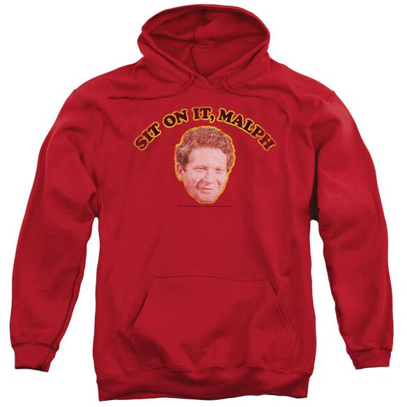 Happy Days Sit On It Malph Adult Pull Over Hoodie