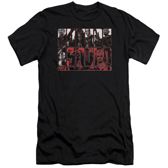 Suicide Squad And White And Red All Over Premuim Canvas Adult Slim Fit