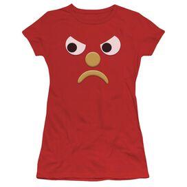 Gumby Blockhead G Short Sleeve Junior Sheer T-Shirt