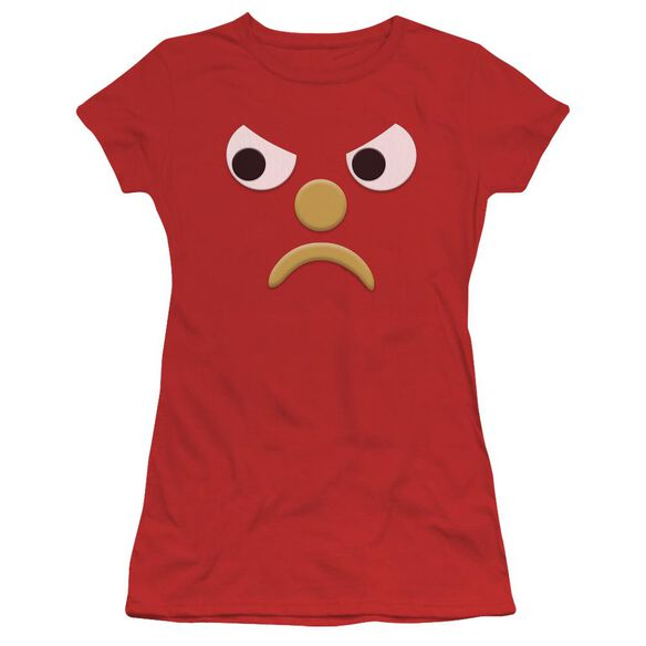 Gumby Blockhead G Short Sleeve Junior Sheer T-Shirt