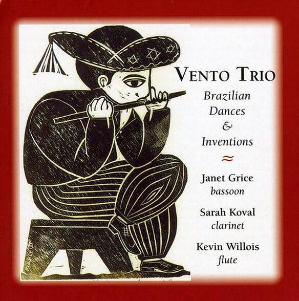 Brazilian Dances & Inventions For Bassoon Flute &