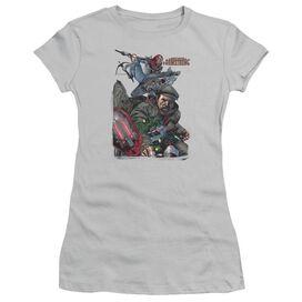 Archer & Armstrong Bottle Smash Short Sleeve Junior Sheer T-Shirt