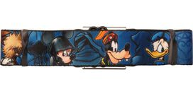 Kingdom Hearts Group Wrap Seatbelt Belt
