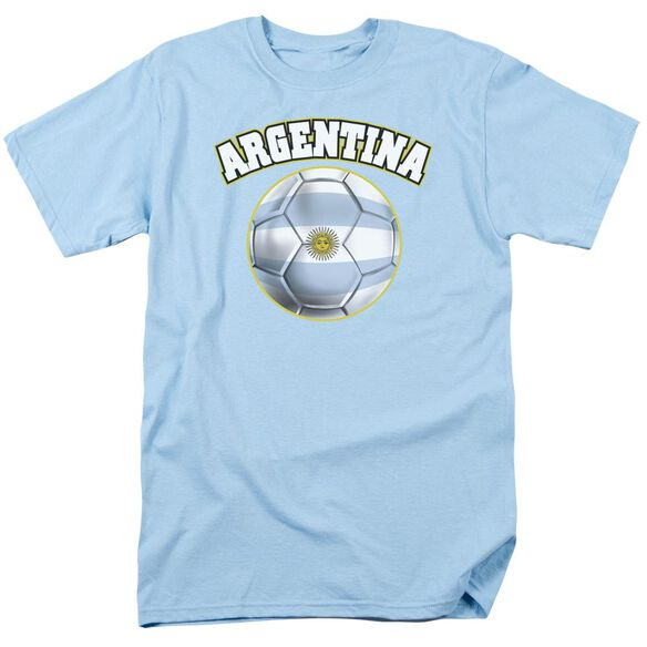Argentina Short Sleeve Adult Light Blue T-Shirt