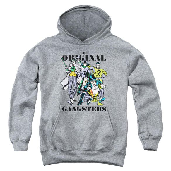 Dc Original Gangsters Youth Pull Over Hoodie Athletic