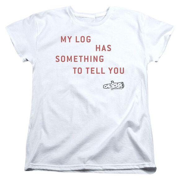 Twin Peaks My Log Short Sleeve Womens Tee T-Shirt