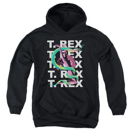 T Rex Snake Youth Pull Over Hoodie