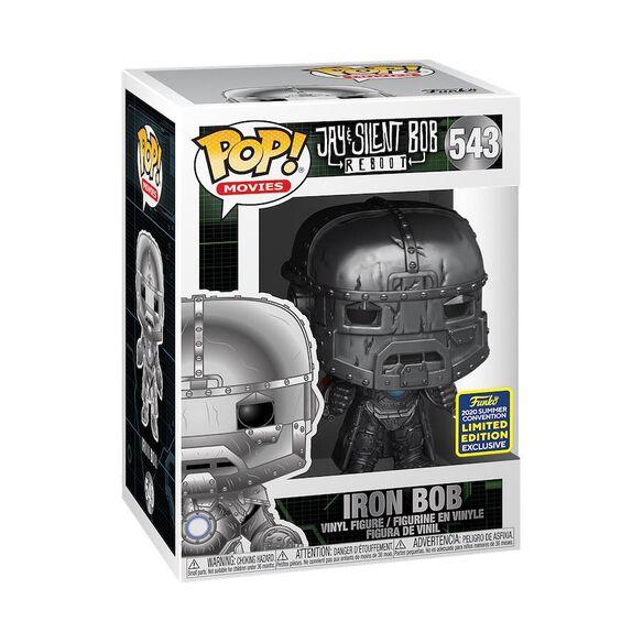 Funko Pop! Jay & Silent Bob Reboot: Iron Bob [SDCC 2020]