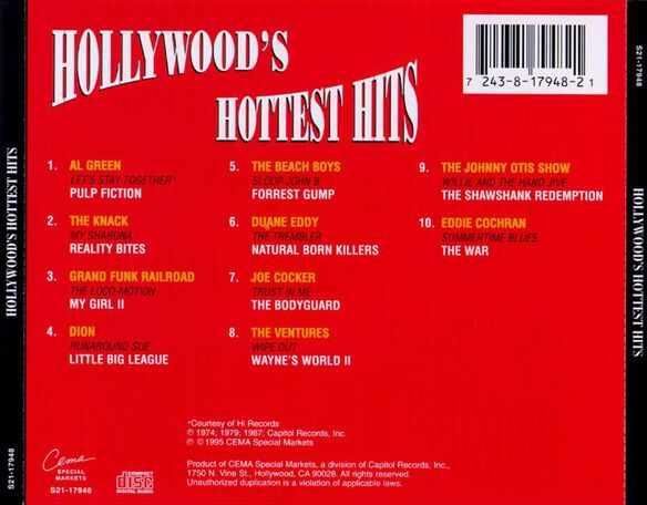 Vol. 1 Hollywood's Hottes