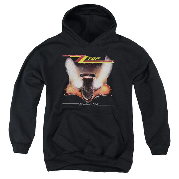 Zz Top Eliminator Cover Youth Pull Over Hoodie